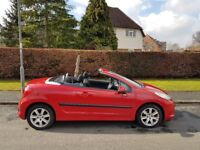 Peugeot 207 CC 1.6 16v Sport 2dr,cheap must go,summer chill pack