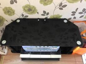 LargeTv unit wooden shelves wardrobes drawer beanbag laptops