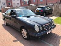 Mercedes Benz E class 300 Turbo Diesel 1998 year 110k service history