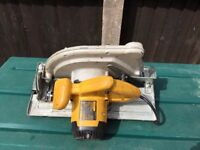 Large DEWALT D23700LX 235mm Circular Saw 1750 Watt 110 Volt