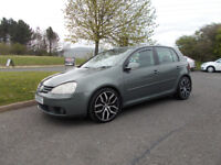 VOLKSWAGEN GOLF 2.0 GT TDI DIESEL 6 SPEED 4 MOTION GREEN/GREY 2006 BARGAIN £2450 *LOOK* PX/DELIVERY