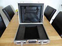 Laptop Flight Case, aluminium.