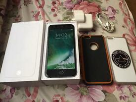 iPhone 6 space grey on 02 16gb