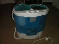 small washing machine suitable for studios or caravans