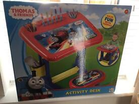 Brand New Thomas & Friends Activity Desk