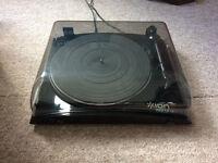 ION Audio Profile LP Turntable with USB Conversion - Black