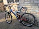 """Pulse V12 Gents 26"""" Wheel Mountain Bike Full Suspension"""