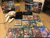 Nintendo Wii U console + 13 games (£220)