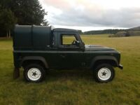 Landrover defender pickup