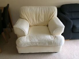 FREE Cream Arm Chairs x2