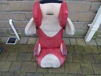 RECARO Start Microfibre Child Car Booster Seat 3 - 12 years - Black