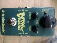 Viscous vibe. TC electronics pedal. Unmarked!