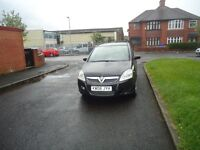 Vauxhall ZAFIRA, 7 seater, 1 owner, 2 keys