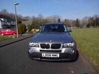 BMW X3 SPECIAL EDITION - DIESEL, GREY, 2008 , FSH