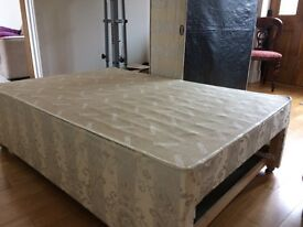 King size divan with four drawers