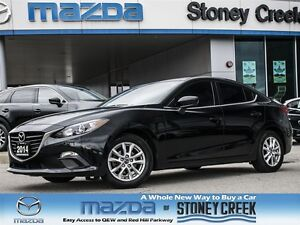2014 Mazda MAZDA3 GS AUTO, 1 OWNER, ACCIDENT FREE, AC, NAV READY