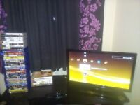 """ps3 console bush22"""" tv 13 ps3 games and 20blurays"""