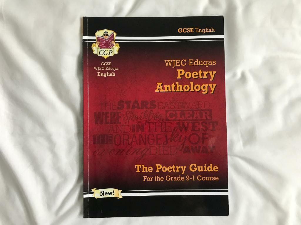 WJEC Eduqas Poetry Anthology Revision Guide | in Church Crookham, Hampshire  | Gumtree