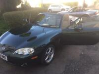 Mazda mx5 Montana 1.8 convertible with lsd. Limited addition . 8 months m.o.t (2002)