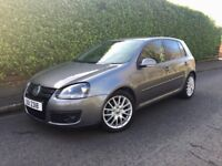 08 VW GOLF 2.0 TDI GT - FSH - MOT09/18 + TAX END OF YR - HEATED LEATHER SEATS - EXCELLENT CONDITION