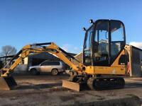 CAT 301.4 Mini Digger JCB Tractor