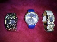 3 X Ladies Watches - DKNY, Playboy and New Look - All Working + Excellent Condition!