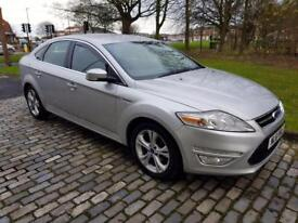 FORD MONDEO 1.6 TDCi Eco Titanium 5dr [Start Stop] (silver) 2011