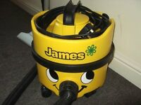 Numatic Henry James (Heavy Duty) vacuum cleaner in Superb A1 condition, £70.00