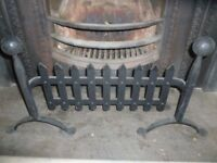 iron fire place fender/guard