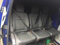 Vito Rear seats