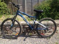 CCM Vandal Full Suspension Mountain Bike, 26-in