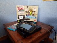 Limited Edition Legend of Zelda Zelda Wii U Console (32GB) + Boxed Legend of Zelda Windwaker HD