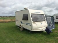 For Sale Bailey 380/2 2 Berth Touring Caravan July 2009 . In good clean order.