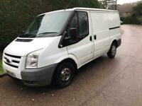 FORD TRANSIT VAN 85T260 S SIDE LOADING 2008 WHITE