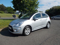 CITROEN C3 VTR+ 1.4 HDI DIESEL STUNNING SILVER 2010 ONLY 59K MILES BARGAIN 3850 *LOOK* PX/DELIVERY
