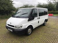 FORD TRANSIT TOURNEO GLX 2005 DIESEL 9 SEATER MINIBUS LONG MOT LOOKS AND DRIVES THE BEST
