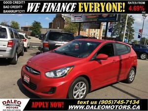 2013 Hyundai Accent GLS HEATED SEATS