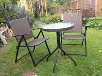 Garden Table and Chairs Patio Set Outdoor
