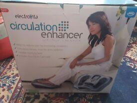 Circulation enhancer electrical stimulator