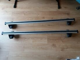 Thule Roof Bars with Exodus Footpack