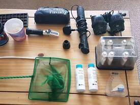 Marine accessories fish tank