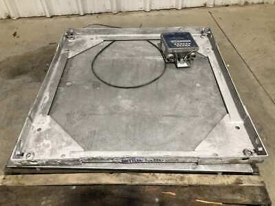Mettler-toledo 36 X 36 Floorplatform Scale W Weight Indicator 10000lb