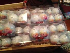 20 x Frozen Christmas tree decorations