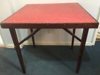 *** Retro Foldable Card / Camping Table *** £25
