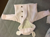 Next baby girl hooded cardigan