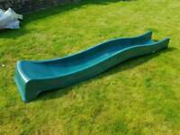 Brand new 3m wavy green slide