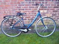 "Ladies Dawes Geneva Bicycle 17"" frame (7 speed Nexus) in Beautiful Condition"