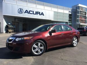 2009 Acura TSX BASE | 6SPD | 1OWNER | SUNROOF | NEWPADS |
