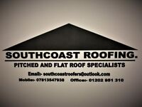 Pitched and flat roofing specialist covering Dorset and Hampshire.