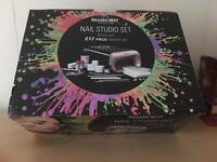 Huge 217 piece nail art studio everything you need £20